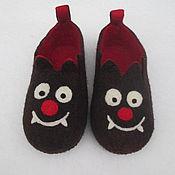 Обувь ручной работы. Ярмарка Мастеров - ручная работа Вамп-тапочки. Handmade.