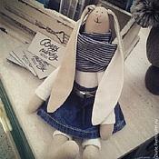 Куклы и игрушки ручной работы. Ярмарка Мастеров - ручная работа Зайчишка Изя. Handmade.