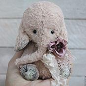 Куклы и игрушки ручной работы. Ярмарка Мастеров - ручная работа Слоник тедди РОУЗИ  Тедди слон. Handmade.