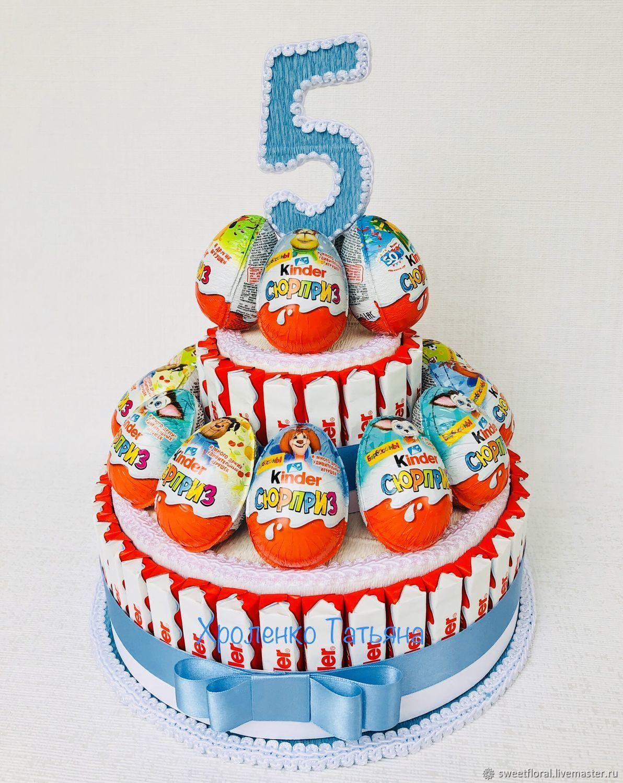 больше картинки с днем рождения торт из киндеров избежать