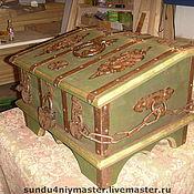 Для дома и интерьера ручной работы. Ярмарка Мастеров - ручная работа Сундук подголовок.. Handmade.