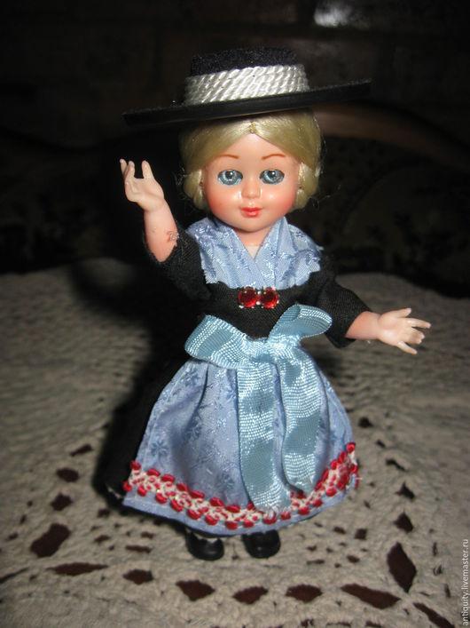 Винтажные куклы и игрушки. Ярмарка Мастеров - ручная работа. Купить Винтажная итальянская кукла фабрики Querzola Marco. Handmade. текстиль