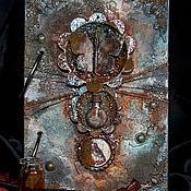 "Канцелярские товары ручной работы. Ярмарка Мастеров - ручная работа Блокнот  ""Вампиры. Книга тайн"". Handmade."