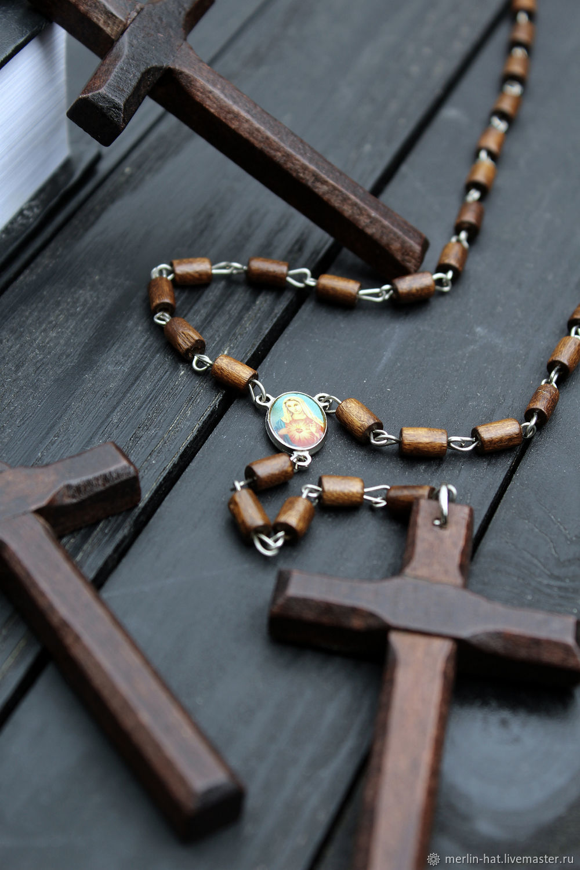 "Розарий ""Ave Maria"" – купить на Ярмарке Мастеров – 5Z91LRU | Четки, Тамбов"