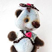 Куклы и игрушки ручной работы. Ярмарка Мастеров - ручная работа Мини - панда ШокоБлю. Handmade.