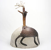 Кинетическая скульптура Олень - качалка