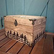 Для дома и интерьера ручной работы. Ярмарка Мастеров - ручная работа Шкатулка Вестерн. Handmade.
