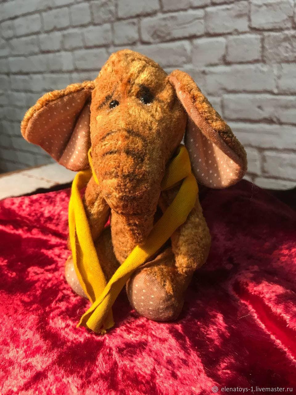 Винтаж: Винтажный слоник, Куклы винтажные, Калининская,  Фото №1