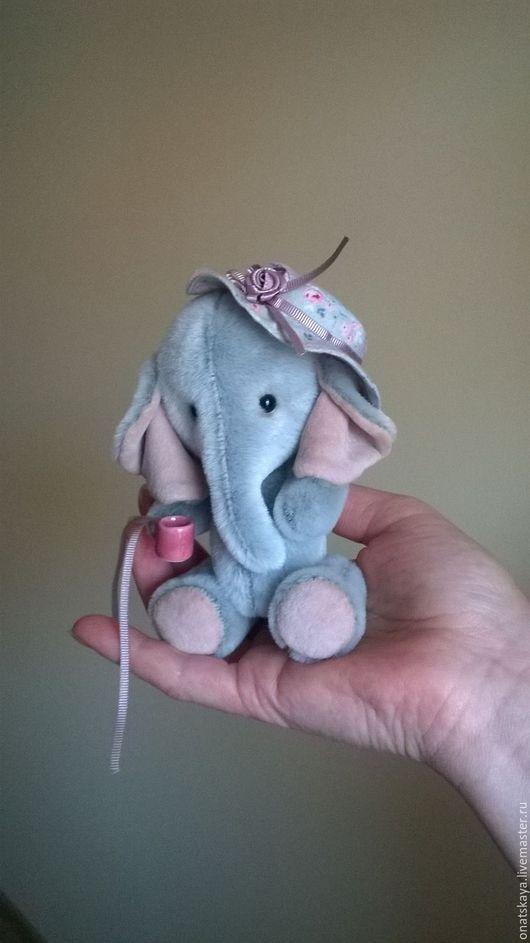 Мишки Тедди ручной работы. Ярмарка Мастеров - ручная работа. Купить Слоник чудный. Handmade. Слоник, handmade, слоник тедди