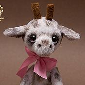Куклы и игрушки ручной работы. Ярмарка Мастеров - ручная работа Жирафик Сева. Handmade.