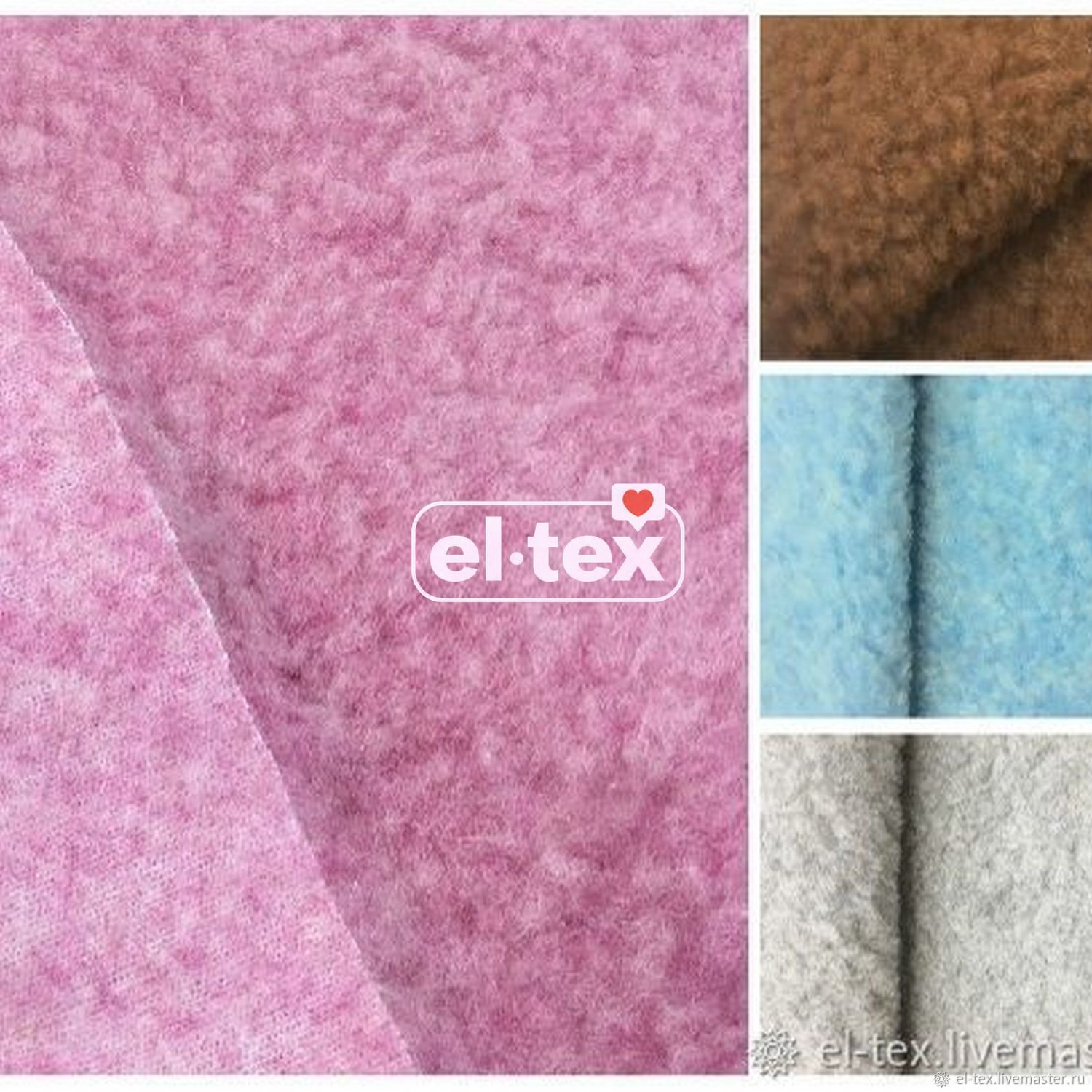 100% wool on a knitted basis from 0,5 g. m, Fur, Moscow,  Фото №1
