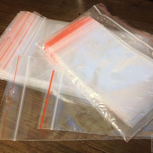 Упаковка ручной работы. Ярмарка Мастеров - ручная работа. Купить ЗИП пакеты 4х6 см с замком  (Грипперы). Handmade.