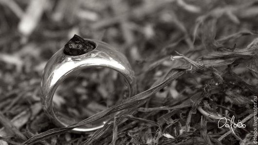 Кольца ручной работы. Ярмарка Мастеров - ручная работа. Купить Серебряное кольцо Забытая сказка(шерл). Handmade. Кольцо с камнем, подарок