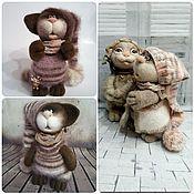 Куклы и игрушки ручной работы. Ярмарка Мастеров - ручная работа Малыши котыши. Handmade.