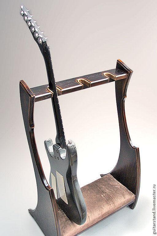 Струнные инструменты ручной работы. Ярмарка Мастеров - ручная работа. Купить стойка для гитар. Handmade. Гитара, мдф 23мм шпон