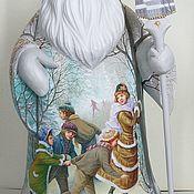 Русский стиль ручной работы. Ярмарка Мастеров - ручная работа Дед Мороз. Каток. Handmade.