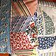 """Для новорожденных, ручной работы. Детский комплект """"Кораблик"""". Демьянова Ирина (DIrina). Интернет-магазин Ярмарка Мастеров. Голубой, комбинированный"""