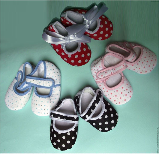 Куклы и игрушки ручной работы. Ярмарка Мастеров - ручная работа. Купить Обувь для куклы, пинетки для малышей. Handmade. Обувь, розовый