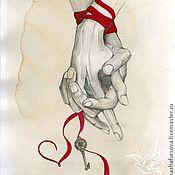 Картины и панно ручной работы. Ярмарка Мастеров - ручная работа Нашли мы друг друга - Я и ТЫ!. Handmade.