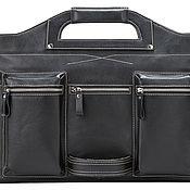 Сумки и аксессуары handmade. Livemaster - original item Business leather bag