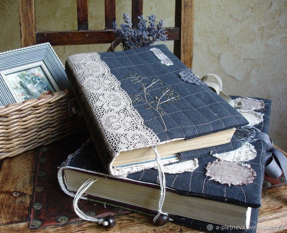 """Обложки ручной работы. Ярмарка Мастеров - ручная работа. Купить """"Веточка"""" комплект обложек для книг. Handmade. Бохо, романтичный, холлофайбер"""
