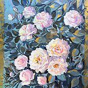 Картины и панно handmade. Livemaster - original item Interior oil painting