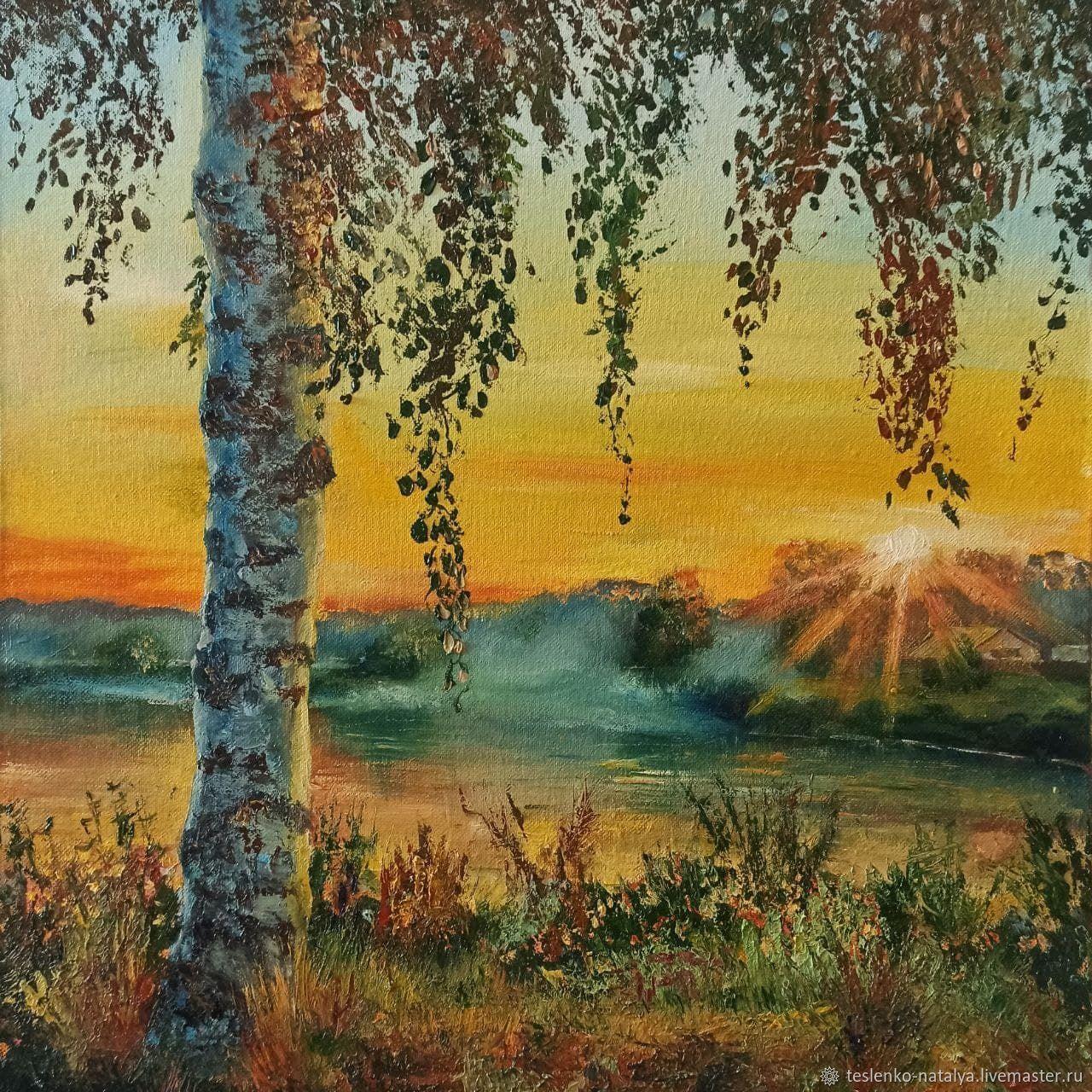 Раннее утро, Картины, Воткинск,  Фото №1