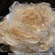 Украшения ручной работы. Ярмарка Мастеров - ручная работа Текстильный цветок. Handmade.