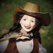 Куклы и пупсы ручной работы. Ярмарка Мастеров - ручная работа Интерьерная кукла Скарлетт. Handmade.