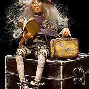 """Куклы и игрушки ручной работы. Ярмарка Мастеров - ручная работа """"А я не уберу свой чУмоданчик!"""""""""""""""""""")))). Handmade."""