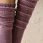 Аксессуары handmade. Livemaster - original item Knitted socks, handmade