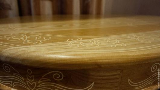 """Мебель ручной работы. Ярмарка Мастеров - ручная работа. Купить Обеденный стол """"Солнце"""". Handmade. Стол, стол из дерева, кухня"""