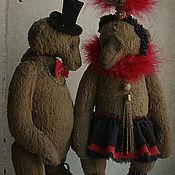 Куклы и игрушки ручной работы. Ярмарка Мастеров - ручная работа Мотя и Жора. Бродячий цирк. Handmade.
