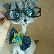 Мягкие игрушки ручной работы. Ярмарка Мастеров - ручная работа Каркасные коты. Handmade.