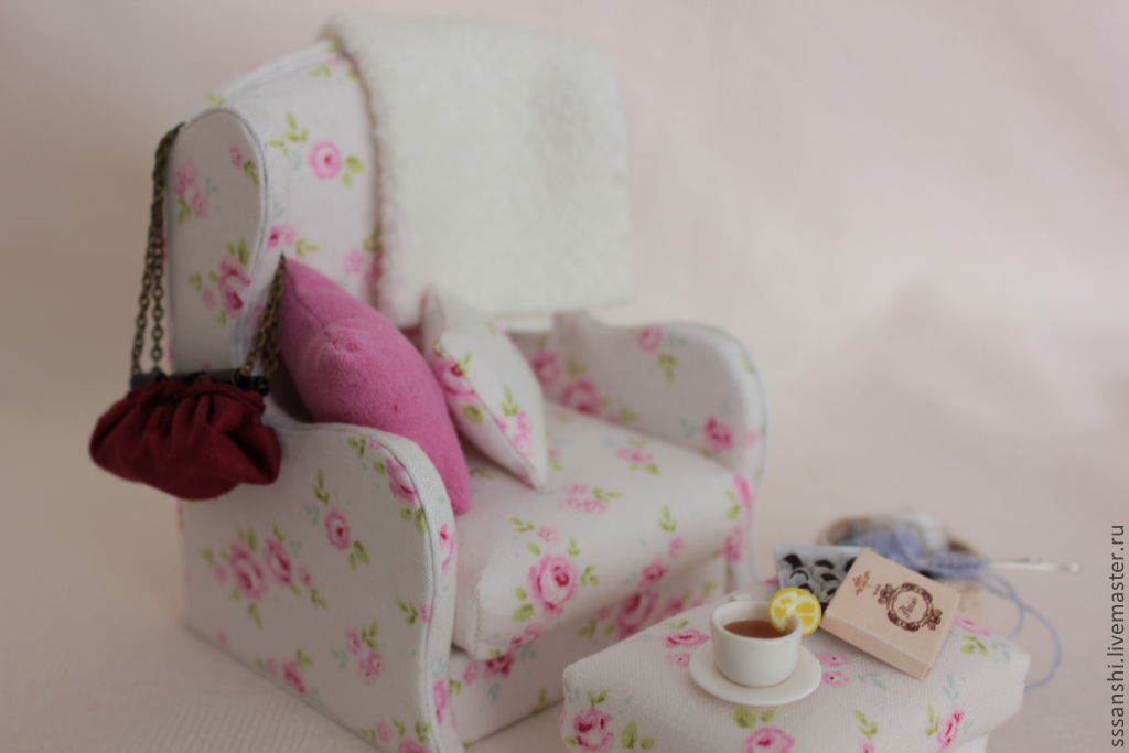 Miniature 'fire chair', Doll furniture, Zaporozhye,  Фото №1