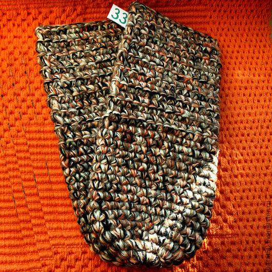 Обувь ручной работы. Ярмарка Мастеров - ручная работа. Купить Тапочки вязанные из шерсти (Чуни). Handmade. Теплый подарок, чуни