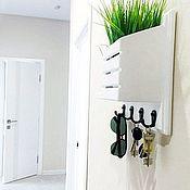 Для дома и интерьера handmade. Livemaster - original item Housekeepers: in the hallway for keys. Handmade.