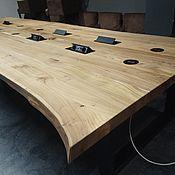Для дома и интерьера handmade. Livemaster - original item Smart table, interactive table (for negotiations). Handmade.