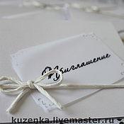 Свадебный салон ручной работы. Ярмарка Мастеров - ручная работа Приглашение. Handmade.
