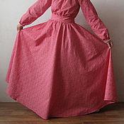 Одежда ручной работы. Ярмарка Мастеров - ручная работа Платье Малиновый коктейль. Handmade.