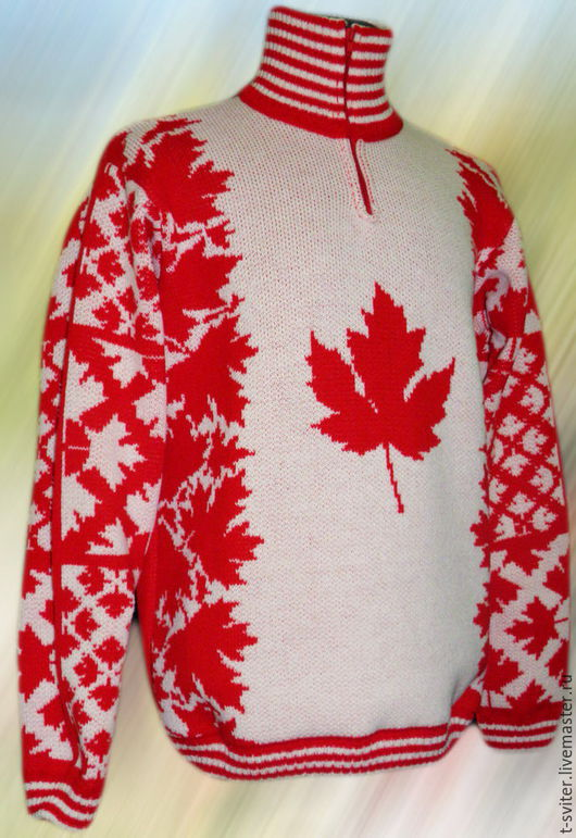 Тату-свитер -  Кленовый