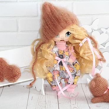 Куклы и игрушки ручной работы. Ярмарка Мастеров - ручная работа Куклы и пупсы: Текстильная кукла Светланка.. Handmade.