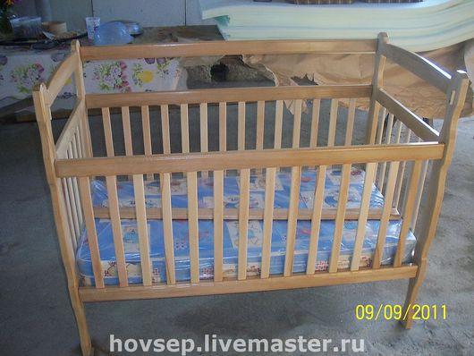 Мебель ручной работы. Ярмарка Мастеров - ручная работа. Купить детская кроватка. Handmade. Детская кроватка, горный бук