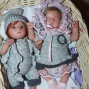 """Куклы и игрушки ручной работы. Ярмарка Мастеров - ручная работа мини-реборн """"Сладкая парочка"""". Handmade."""