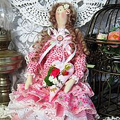 Куклы и игрушки ручной работы. Ярмарка Мастеров - ручная работа Кукла в стиле Тильда Мадемуазель Полин. Handmade.