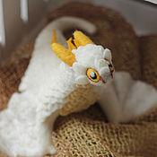 Куклы и игрушки ручной работы. Ярмарка Мастеров - ручная работа Визерион, валяный дракон. Handmade.