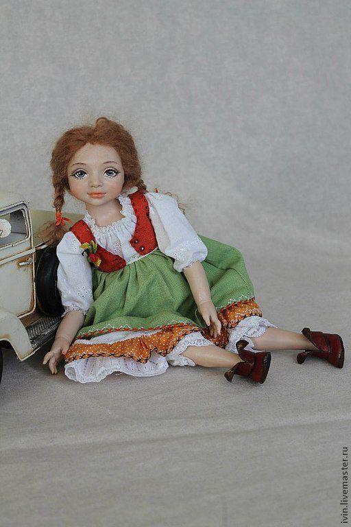 Коллекционные куклы ручной работы. Ярмарка Мастеров - ручная работа. Купить Варенька ( Стешина сестричка). Handmade. Милая девочка