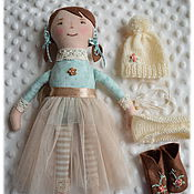 Куклы и игрушки handmade. Livemaster - original item Doll game for girl gift dolls textile. Handmade.