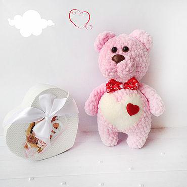 "Dolls & toys handmade. Livemaster - original item Плюшевая игрушка ""ПузиМишка"". Плюшевый медвежонок. Handmade."
