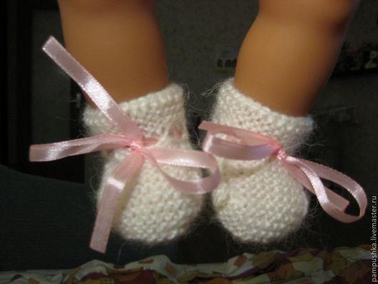 Одежда для кукол ручной работы. Ярмарка Мастеров - ручная работа. Купить Пинетки для кукол Беби Бон, Шу-Шу. Handmade.